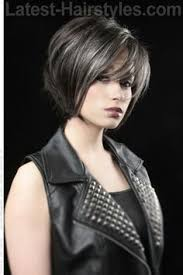 google search latest hairstyles short dark hair with silver highlights google search marinda hair