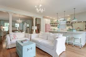 Shabby Chic Lighting by Porcelain Enamel Pendants Win Big In Victorian Kitchen Pastel