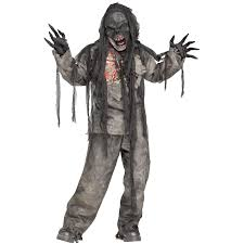 child zombie halloween costume kids burnt zombie costume buycostumes com