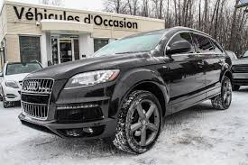 Audi Q7 X5 - used audi q7 tdi s line awd 2015 for sale in laval quebec auto123