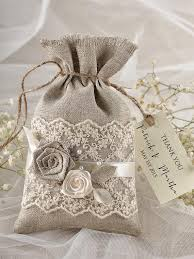 lace favor bags rustic wedding favor bag lace wedding favor bag 2218168 weddbook