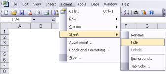 how to hide a sheet in excel excel u0026 vba u2013 databison