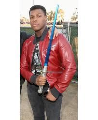 Boys Leather Bomber Jacket Buy Online Comic Con International John Boyega Bomber Jacket San