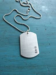 Personalized Dog Tag Necklaces Best 25 Mens Dog Tag Necklace Ideas On Pinterest Military Gifts