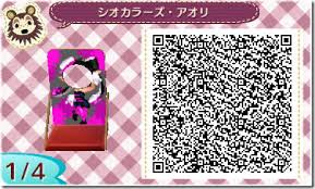 animal crossing new leaf qr code hairstyle splatoon themed qr codes will help your animal crossing new leaf
