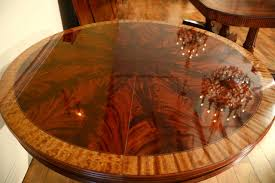 Small Dining Table With Leaf Small 48 Inch Round Mahogany Pedestal Dining Table With Leaf