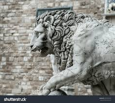 Outdoor Lion Statue by Lion Statue Stock Photo 367495769 Shutterstock
