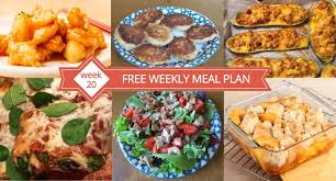 Dinner Ideas For Families Free Weekly Meal Plan Week 20 U2013 Easy Recipes U0026 Family Dinner