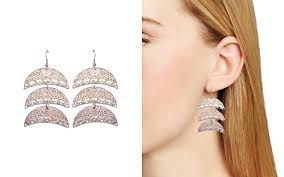 what size diamond earrings earrings bloomingdale s