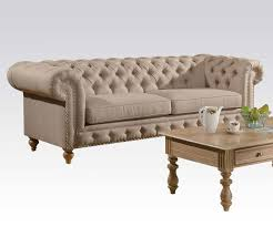Antique Chesterfield Sofas by Tufted Sofa With Nailhead Trim Militariart Com