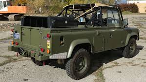 land rover military defender this land rover 110 is the military vehicle you u0027ve always wanted