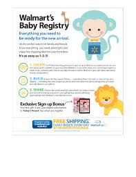 registry for baby walmart targets new with online baby registry marketing