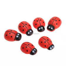 aliexpress com buy 50pcs wooden cute ladybug insect sticker aliexpress com buy 50pcs wooden cute ladybug insect sticker fridge magnets scrapbooking home decoration 3d wall sticker craft 19x14x7mm from reliable 3d