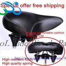Comfort Bike Seat Aliexpress Com Buy Thick Cushion Comfort Bike Seat Cushion Big