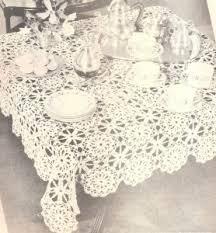 Crochet Table Cloth Best 25 Crochet Tablecloth Ideas On Pinterest Crochet
