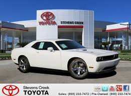 2012 dodge challenger rt pre owned 2012 dodge challenger r t coupe 2dr car in san jose