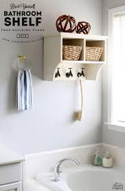 Jen House Design by Diy Bathroom Shelf The House Of Wood