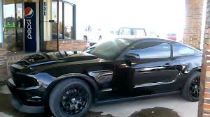 mustang gt 5 0 2010 2012 blacked out mustang gt 5 0
