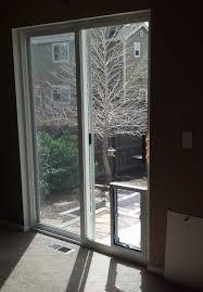 installing pet door in glass door we know how to install dog doors right