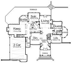 Chateauesque House Plans 76 Best House Plans Images On Pinterest European Style Floor