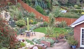 Steep Hill Backyard Ideas Sloped Backyard Design Ideas Best 25 Sloped Backyard Ideas On