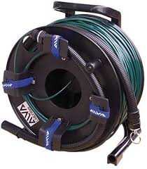 150 m to ft alva audio 150 m 492 ft madi optical cable drum heavy duty