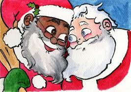 Gay Black Man Meme - ho ho what children s book depicts santa as gay black man