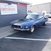 1969 mustang rear 1969 ford mustang fastback with 428 fe toploader 4 speed 9 rear