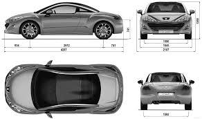 peugeot rcz 2010 the blueprints com blueprints u003e cars u003e peugeot u003e peugeot rcz 2010