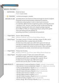 Project Architect Resume Visualizer Resume Resume For Your Job Application