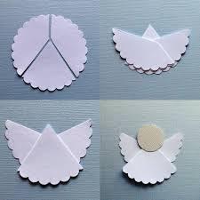 decoração criativa para batizados anjos de papel batizado