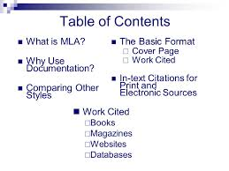 how to cite a table in mla an introduction to mla citation format ppt video online download
