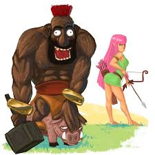 clash of clans hog rider pig rider by tuhis on deviantart