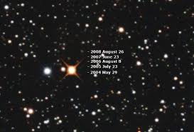 Backyard Astronomer Mortfield Barnard U0027s Star