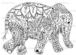 coloring pages henna art wonderful elephant coloring pages printable henna art pinterest
