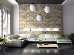 Wohnzimmer Esszimmer Design Innenarchitektur Schönes Wohnzimmer Esszimmer Steinwand
