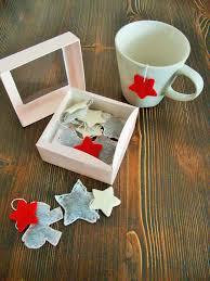 christmas tea party favors box of christmas and flakes tea bags for gift christmas