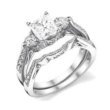 marriage rings sets antique wedding ring set jeenjewels