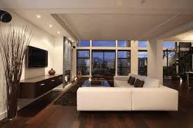 Blind Side House Modern Livingroom Ideas Wooden Table Wicker Arm Chair Interior