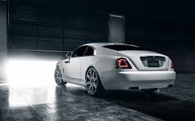 roll royce diamond hd background rolls royce wraith white rear view sports car luxury