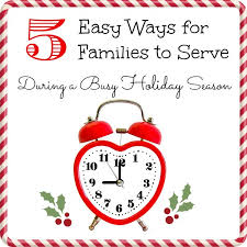 easy ways to serve during the holidays moments a day