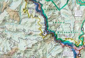 nantahala river map trail map of nantahala cullasaja gorges nantahanla national