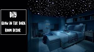 diy glow in the dark room decor youtube