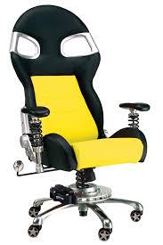 Car Desk Chair Yellow Race Car Office Chair