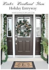 Christmas Outdoor Entryway Decorating Ideas by Christmas Entryway Decor Ideas Christmas Entryway Entryway