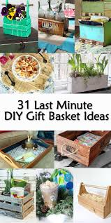 gift baskets ideas 31 last minute diy gift basket ideas pretty handy girl