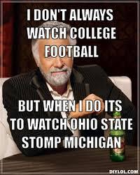 Ohio State Michigan Memes - buckeyes ohio state wolverines michigan harbaugh urban meyers