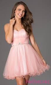 sweetheart homecoming dress with corset back promgirl