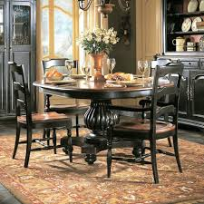 outstanding room a indigo creek pedestal dining table furniture