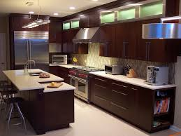 veneer kitchen cabinets with dark brown paint colors and light